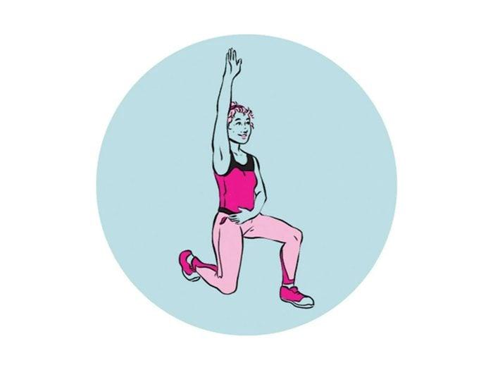Devenir plus souple avec ces flexions de la hanche.