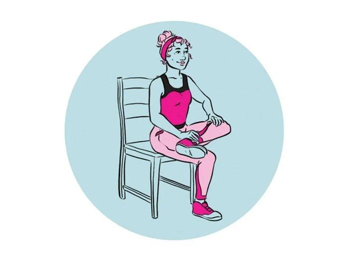 Devenir plus souple à ces étirements du muscle piriforme.