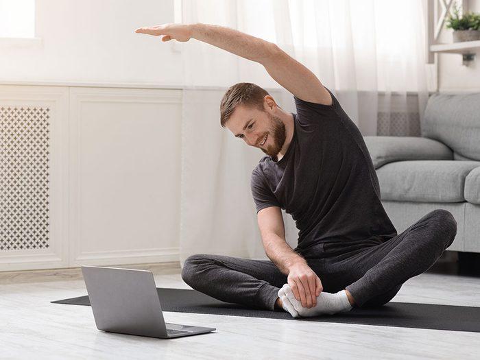 Entraînement de yoga: 10 minutes à faire tous les jours.