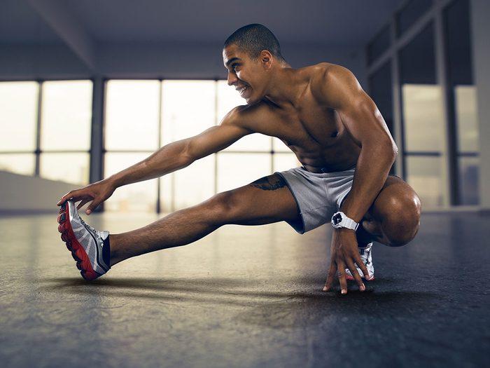 Les étirements ne sont pas les seuls types d'exercices qui produisent une hypoalgésie.