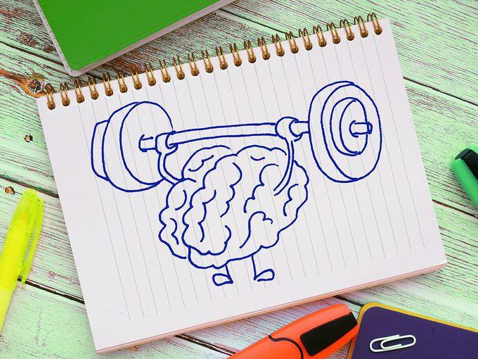 L'exercice préserve les facultés cognitives.