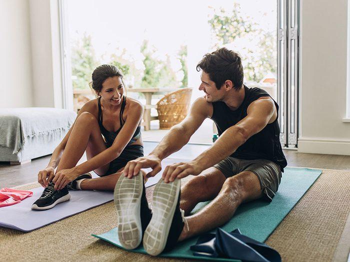 Fausse idée: j'ai déjà été en forme, je n'ai donc pas besoin de faire de l'exercice.