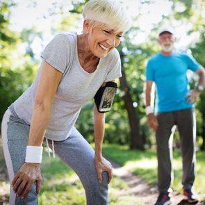 Fausse idée: je suis trop vieux pour faire de l'exercice.