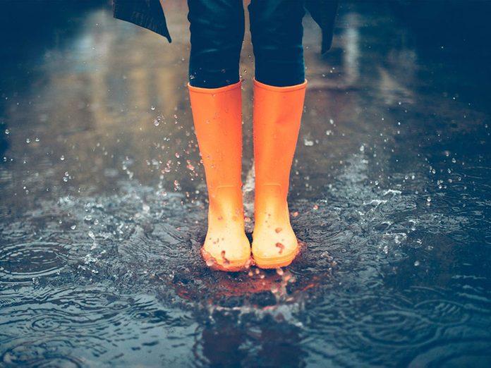 Les bottes de pluie font partie des choses incroyables à nettoyer dans le lave-vaisselle.