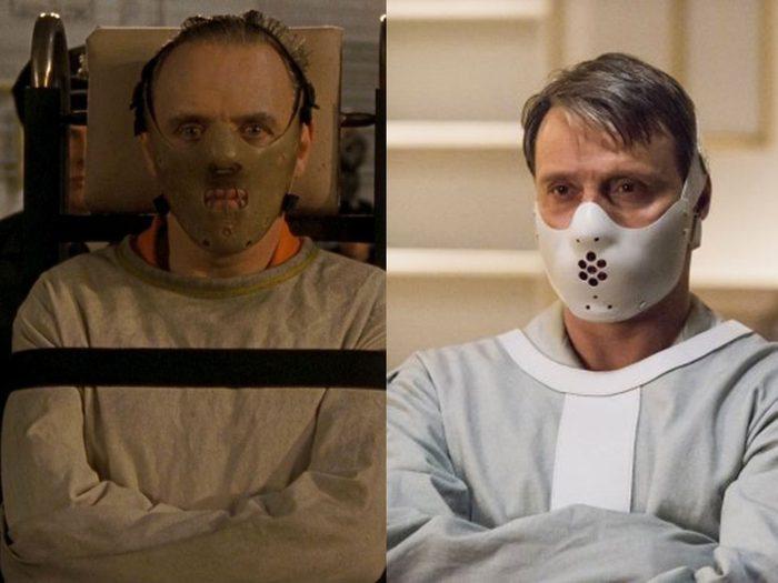 Hannibal Lecter fait partie des méchants qu'on aime dans les films.