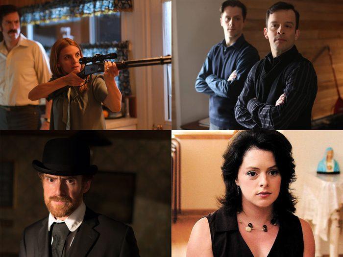 Huguette, Marc Arcand, Line la pas fine, Séraphin font partie des méchants qu'on aime dans les films.