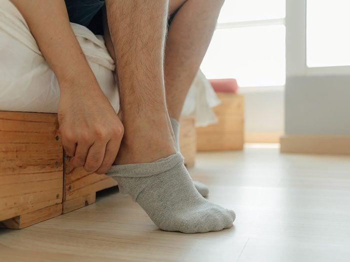 Comment remédier à la mauvaise odeur des pieds?