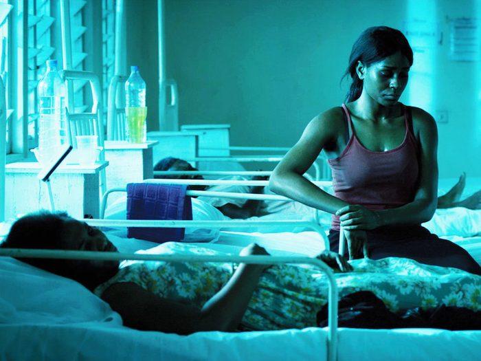 93 Days fait partie des films qui parlent de pandémie.