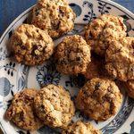 Biscuits à l'avoine, aux canneberges et aux pacanes
