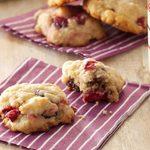Biscuits à l'avoine et aux canneberges