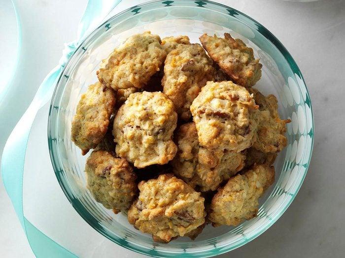 Recette de biscuits épicés aux patates douces.
