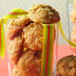 Biscuits à l'avoine et à la noix de coco de Tatie Myrtle