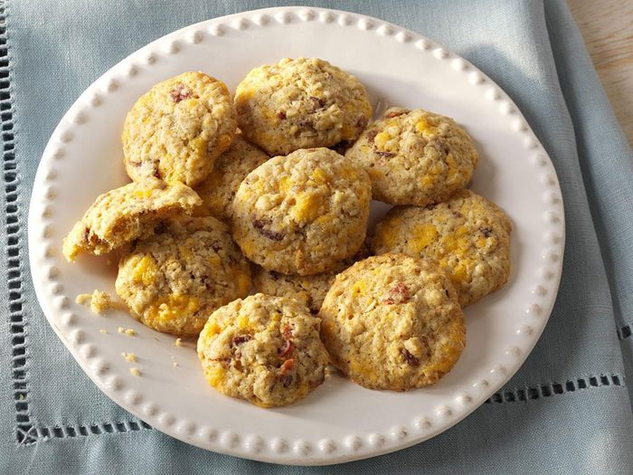 Recette de biscuits du petit déjeuner.