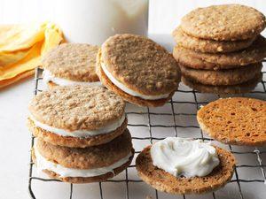 Biscuits-sandwichs à la crème