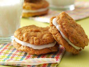 Biscuits-sandwichs à l'avoine