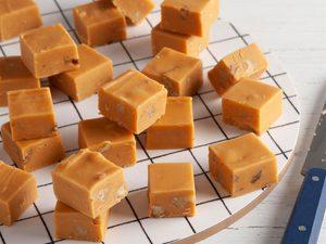Fudge au caramel au beurre