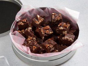 Fudge chocolat et pacanes