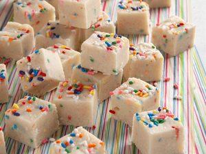 Fudge gâteau d'anniversaire