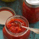 Salsa de tomates douces