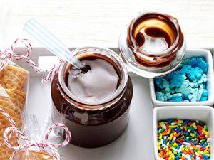 Délicieuse sauce au chocolat