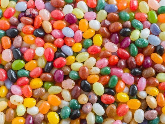 Les bonbons sans sucre sont à éviter dans le cadre d'un régime keto.