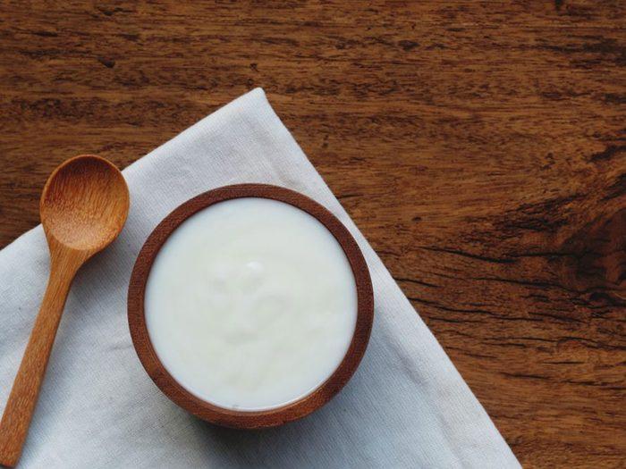La crème épaisse est à éviter dans le cadre d'un régime keto.