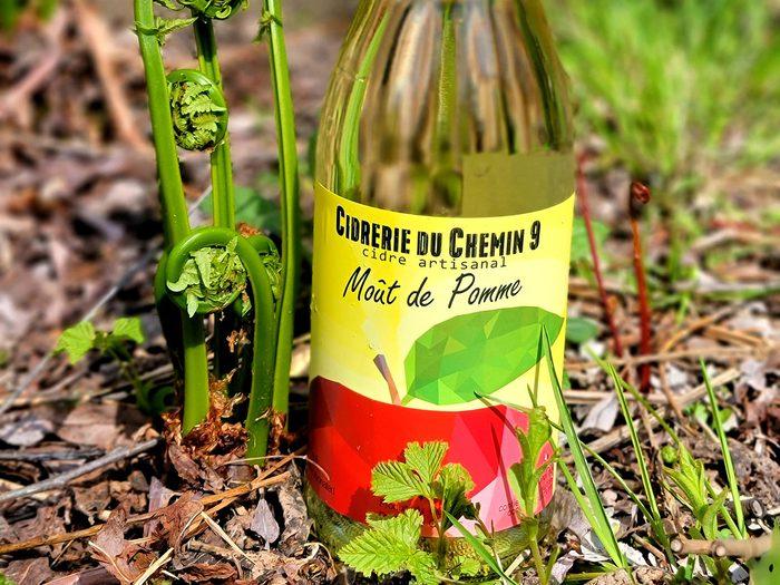 La Cidrerie du Chemin 9 propose des produits sans alcool.