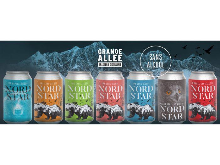 La Brasserie Grande Allée propose des produits sans alcool.