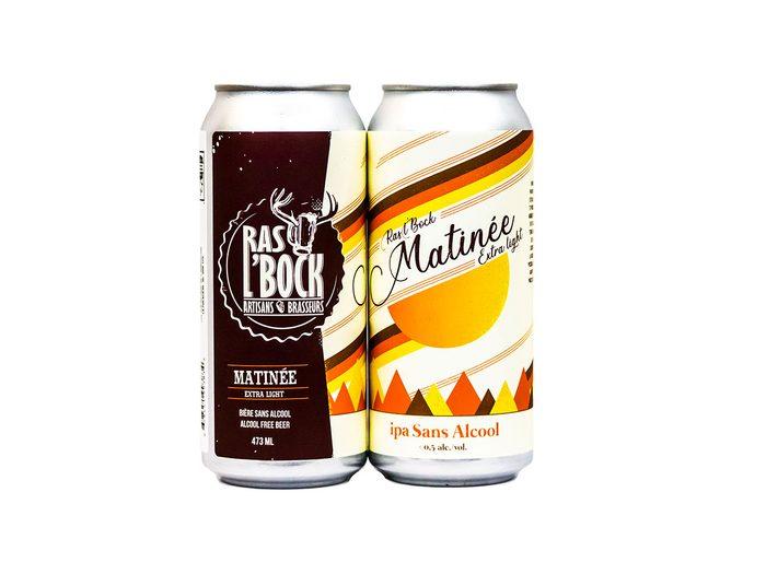 La brasserie Ras l'bock propose des produits sans alcool.