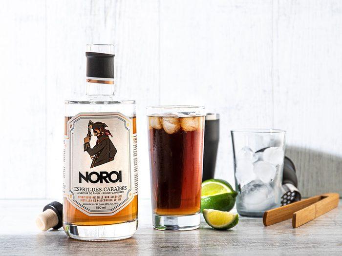 La distillerie Noroi propose des produits sans alcool.