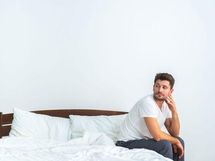 Ce que vous ne savez pas sur le sexe: trop de masturbation rend les relations sexuelles plus compliquées.