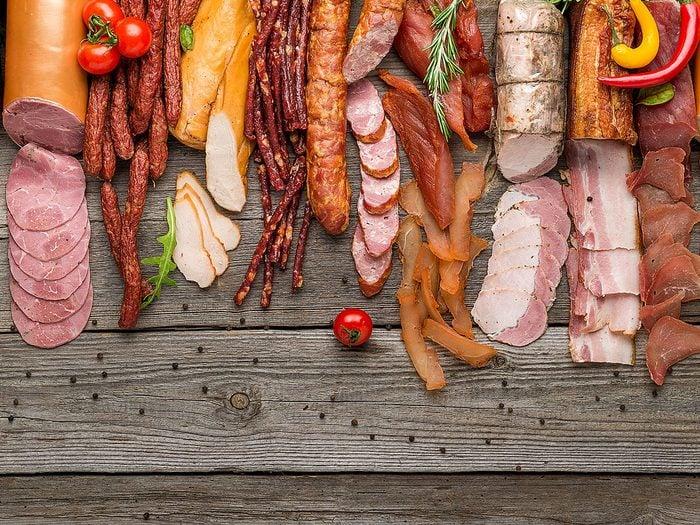 Les nitrates, la viande transformée et votre santé.