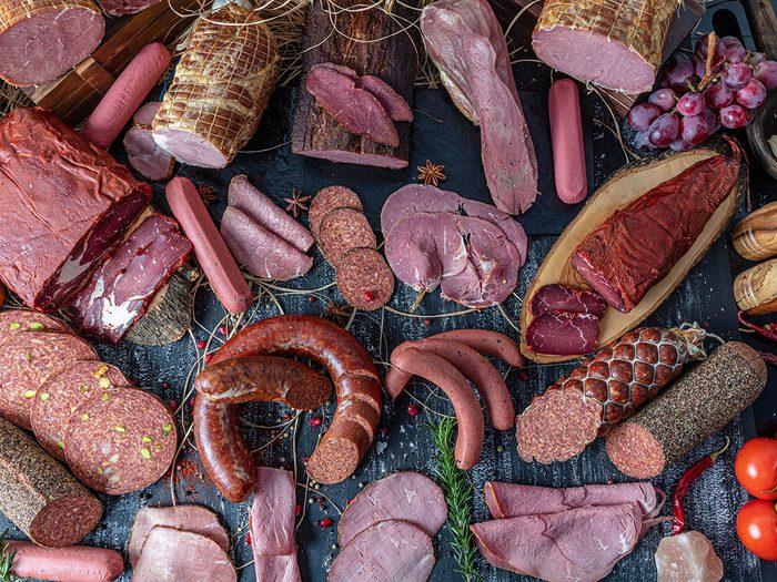 Comment la viande rouge transformée peut être dommageable?