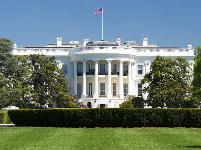 Vous pouvez acheter la Maison-Blanche avec 1 milliard de dollars.