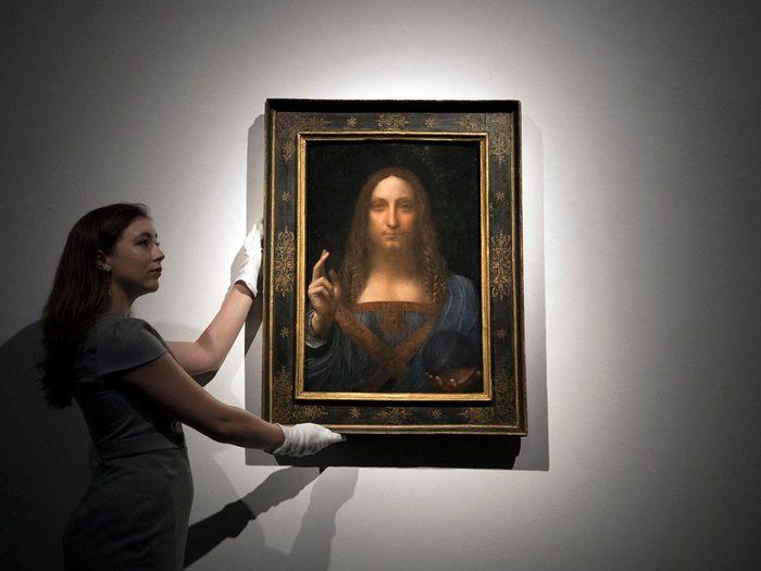 Vous pouvez acheter des tableaux de grands maîtres avec 1 milliard de dollars.