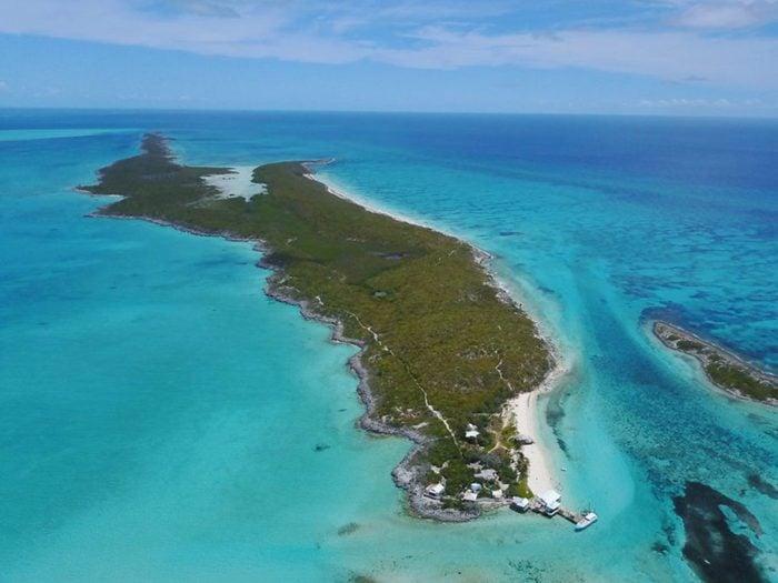 Vous pouvez acheter une île privée avec 1 milliard de dollars.