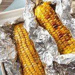 Maïs grillé épicé