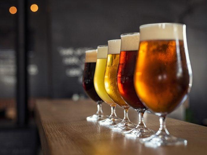 La bière est l'une des meilleures boissons pour s'hydrater.