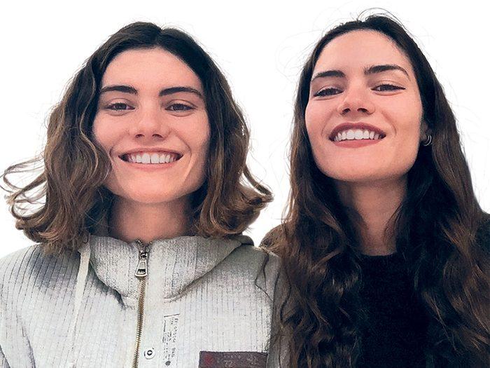 Bonnes nouvelles: deux sœurs fondent une école d'anglais.