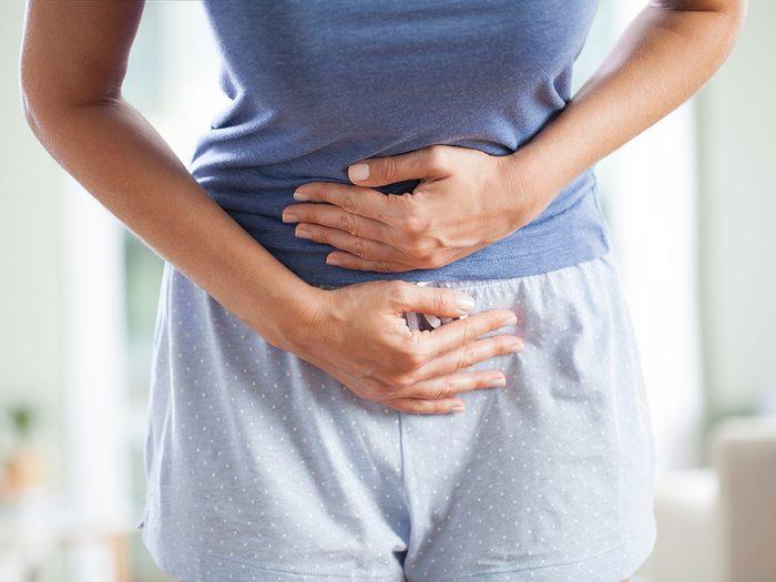 Les symptômes du cancer de la vessie.