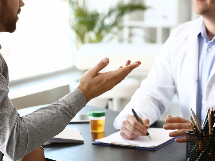 Diagnostic et traitements du cancer de la vessie.