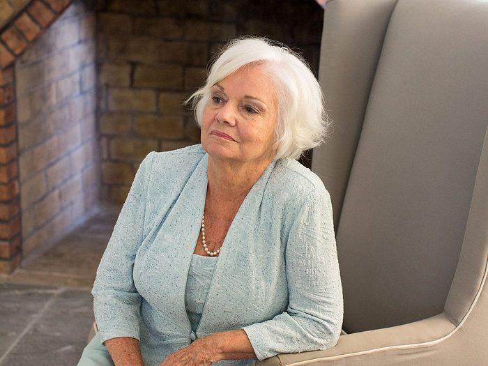 Frances Dobrowolski a appris qu'elle avait le cancer de la vessie.