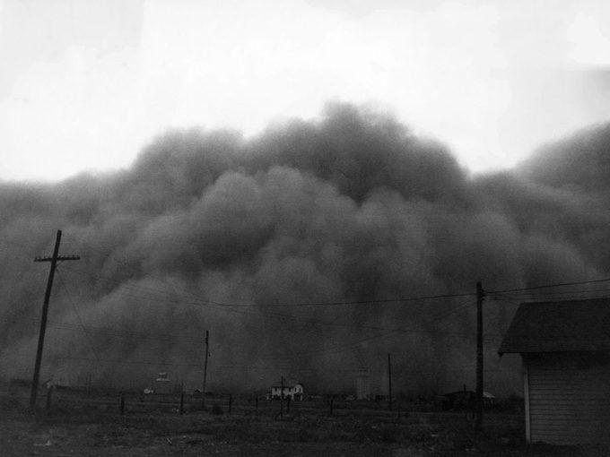 Canicule: vivre dans un désert de poussière.