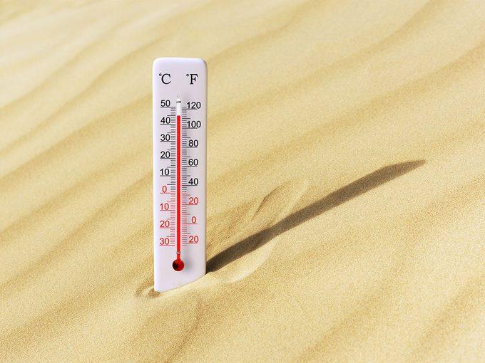 Canicule: existe-t-il une limite à la chaleur?