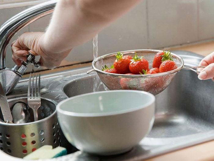 Comment laver les petits fruits pour un meilleur résultat?