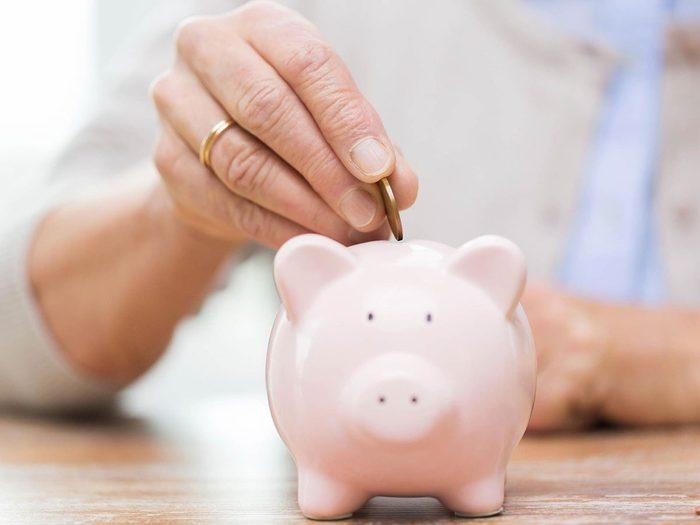 Économiser de l'argent en faisant un jeûne de dépenses pendant 30 jours.