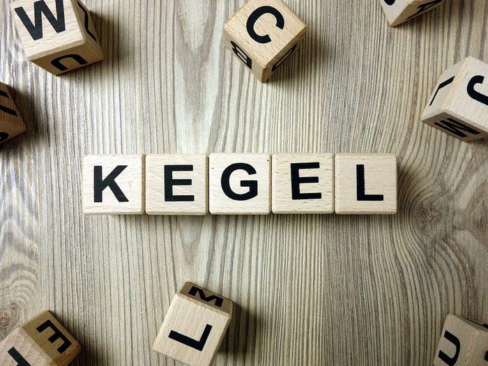 Des exercices de Kegel pour tous.