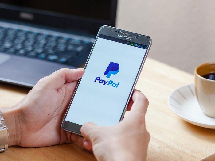 Les frais cachés de PayPal.