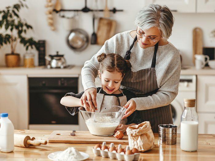 Y a-t-il d'autres différences entre cette génération de grands-parents et la précédente?