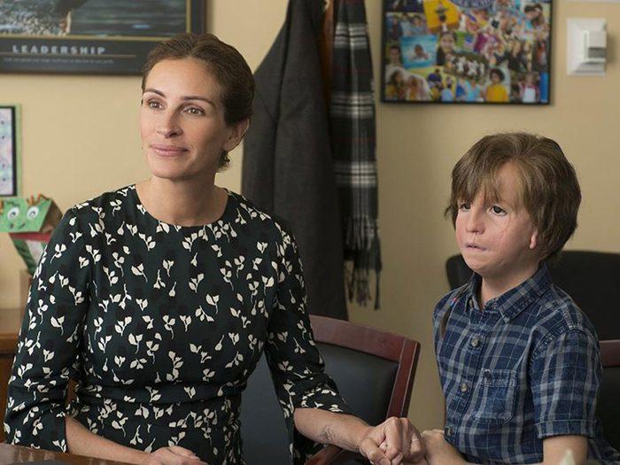 Jacob Tremblay a joué dans le film Merveilleux.